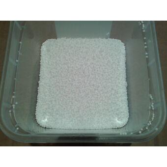 1-2 mm habgyöngy töltőanyag 1 kg-os kiszerelésben